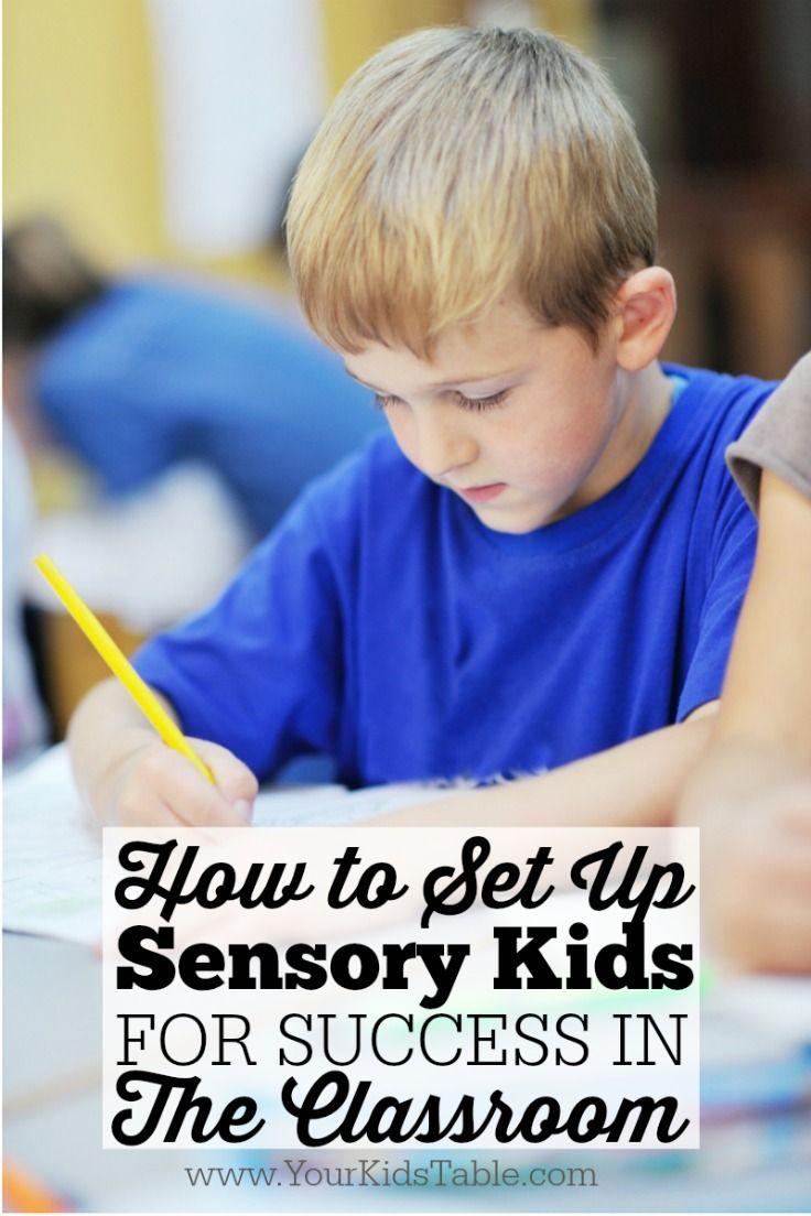 Get a plan for your child with sensory needs from this pediatric OT and mom to help them succeed in school!