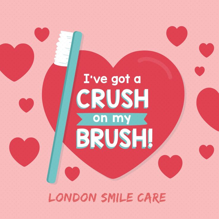 EVERY TIME YOU BRUSH it's like sending your teeth a #Valentine! #LondonSmileCare