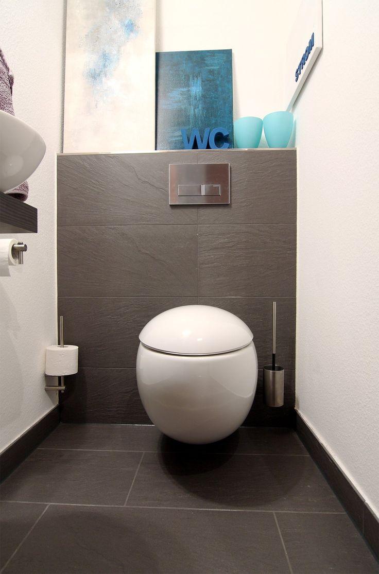 WC in rundem Design