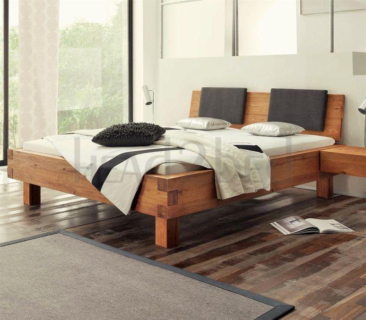 Contemporary Designer Beds Hasena Pilatus Ivio Sion Character Solid Oak Bed Hasena Pilatus Ivio