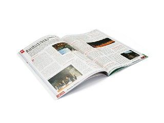 Stampa cataloghi e riviste con punto metallico | iPrintdifferent