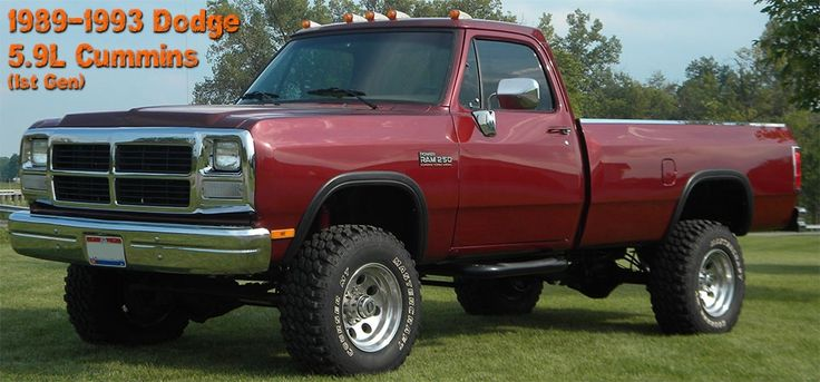 1st Gen Dodge Cummins 5.9L 89-93 Diesel Performance Parts