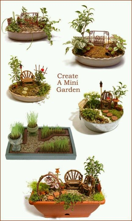 Fairy Garden   Layout Ideas. Great Activity For A Family Reunion. Fun For  Young