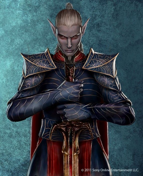 Mayong Mistmoore Vampire from Everquest | Dungeons and