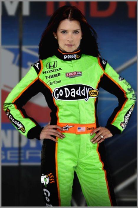 go daddy danica swimsuit | Danica Patrick Calls Herself Honey Badger in NASCAR Daytona 500 Debut