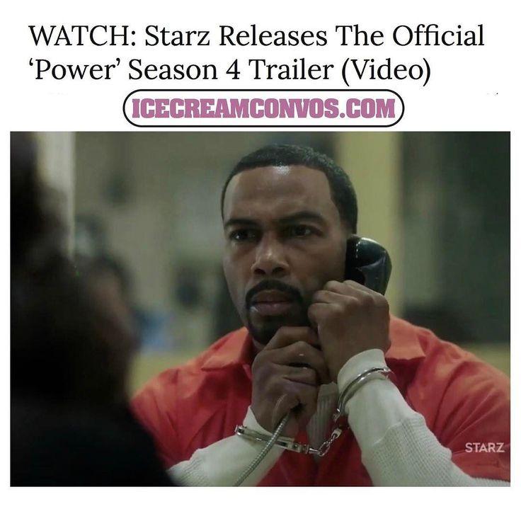 "@Starz has release the full ""Power"" season 4 trailer and the ish has definitely hit the fan. Ghost is in jail Tariq has been kidnapped Tasha is between a rock and a hard place and Angela is ready to burn her former boo at the stake. Watch now @ IceCreamConvos.com or the ICC app. Link to site in bio. #Power #Starz #TVScoop #June25 #IceCreamConvos"