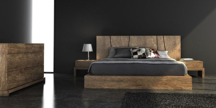 The daylight or the Led  lighting pass through the headboard...It's amazing!!  Available in our showroom