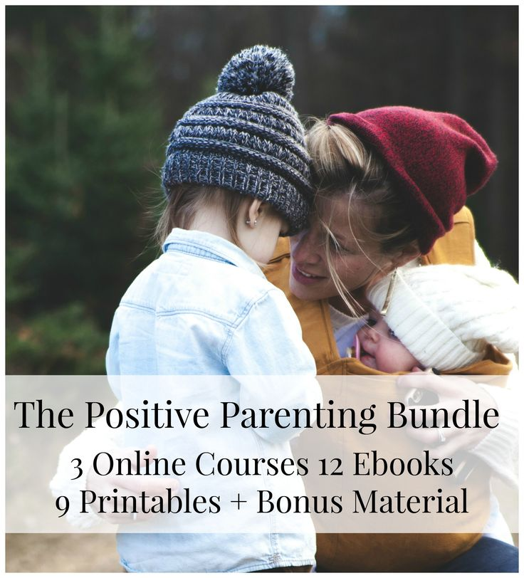 $325 worth of resources for $29.99! Get your kids to listen better.  Stay calm in the heat of the moment.  Be the parent you know you can be.   Positive parenting is made practical with these three online parenting courses, 12 ebooks, and 9 printable sets.