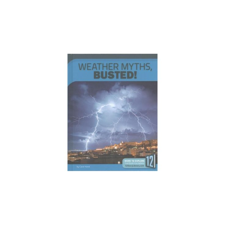 Weather Myths, Busted! (Library) (Carol Hand)