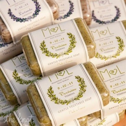 20 Real Bomboniere Ideas Customised Soap – The Knot