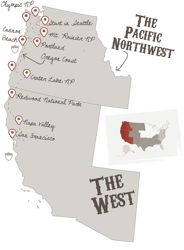 Northwest Explorer | The American Road Trip Company