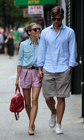 Johannes Huebl: melhor referência de moda masculina da atualidade! Olha a camisa combinando com a da Olivia Palermo <3