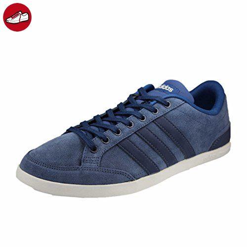 adidas Neo Caflaire B74610 Größe 42.5 Blau (dunkelblau) - Adidas sneaker (*Partner-Link)