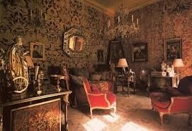 Boudoir of the late Baronne Guy de Rothschild, Hotel Lambert, l'Ile Saint Louis Paris. For many years, the home of le Baron Guy de Rothschild, and his wife, Marie-Hélène.