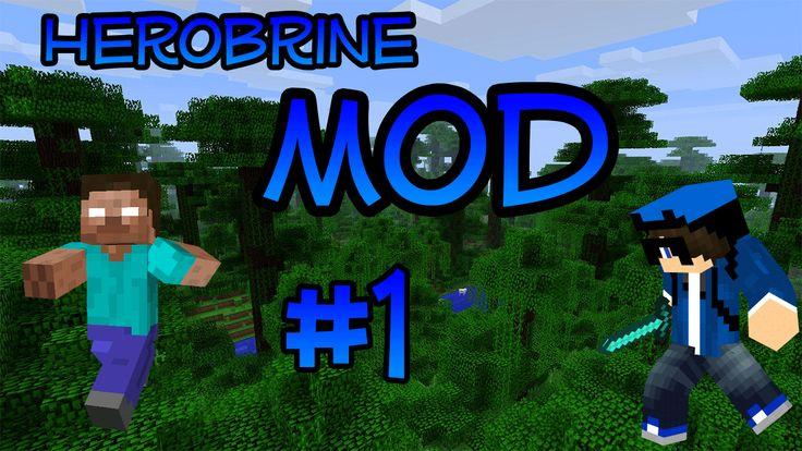 Il mio video di minecraft sul mio canale!!! Herobrine Mod!! #Minecraft #Herobrine #Sclero #Funny #HerobrineMod