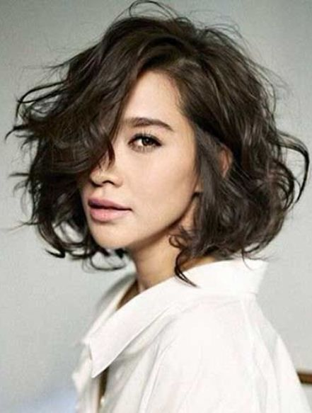 Short Hairstyles For Wavy Hair short hairstyle for curly hair Best 25 Short Wavy Haircuts Ideas On Pinterest Short Wavy Summer Short Hair And Highlights Short Hair