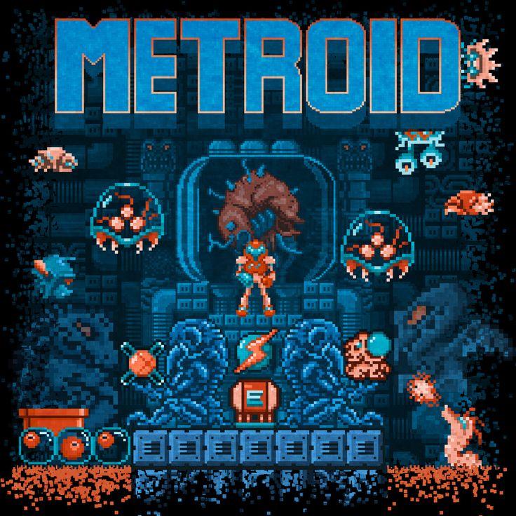 Metroid Art by Like Likes || FB