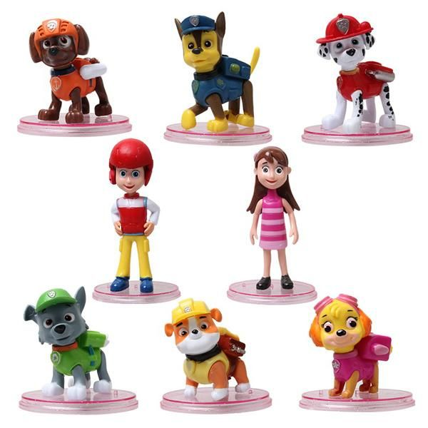 Set Cartoon Character Toys Paw Patrol Dog Toys Kids Action Figures Toys Movable Joints Come With Base And A Shield 2107025 Online with $5.57on Szloop's Store | DHgate.com