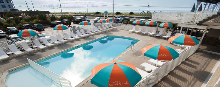 The Beach Shack hotel in Cape May, NJ