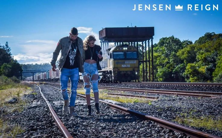 Bracelets and Necklaces by Jensen Reign. The Queen wears The Pillar Cross and The King wears JR Tags all in solid 925 Silver. Be the King (or Queen) in You #jrlife