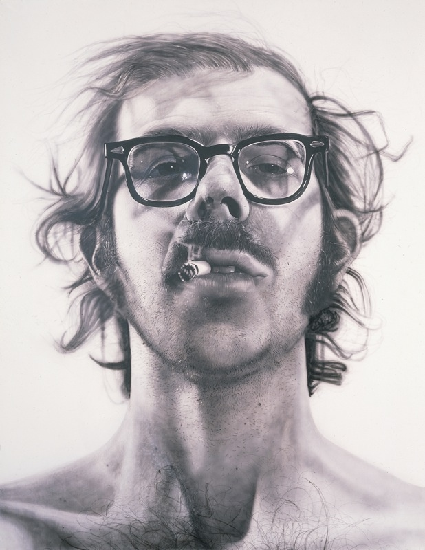 chuck close  self portrait  1968
