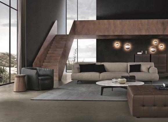 Poliform_Tribeca sofa in fabric.