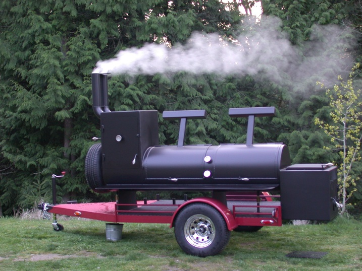 BBQ Trailers For Sale | BBQ PIT FOR SALE