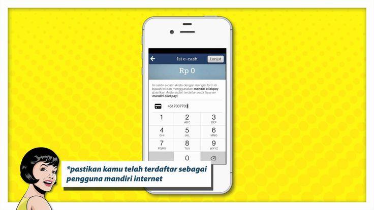Tutorial Isi Ulang Mandiri e-cash Lewat Mandiri Click Pay www.mandiriecash.co.id