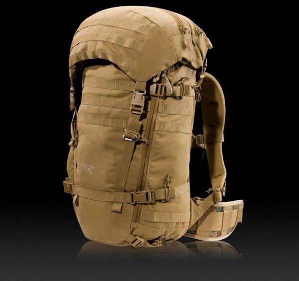 Arc'Teryx Anteus - Assault pack with main pack lid