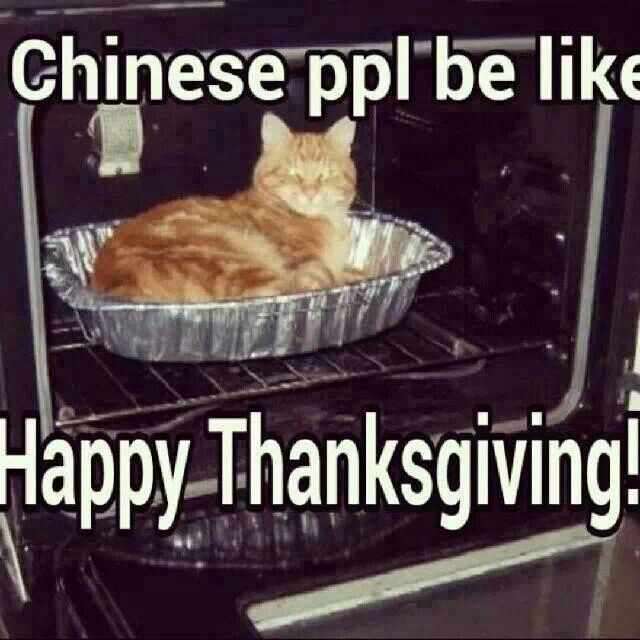 Chinese people be like funny stuff pinterest humor for What do people eat on thanksgiving