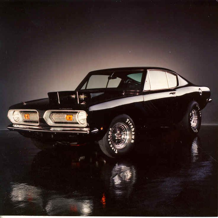 1968 Plymouth Barracuda.