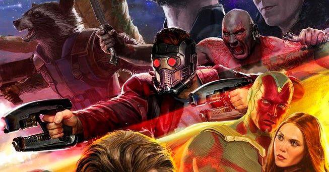 Imagen promo art de Avengers: Infinity War (2018)