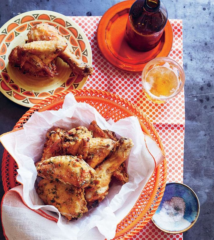 Deep-fried chicken with wine and lemon by Fernanda de Paula & Shelley Hepworth from This is Brazil | Cooked