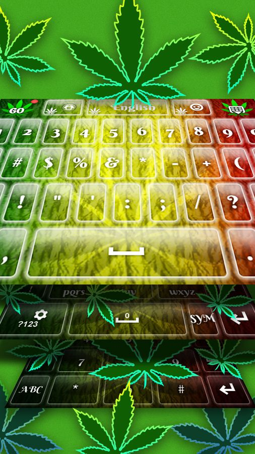 Get today this awesome Weed Keyboard!