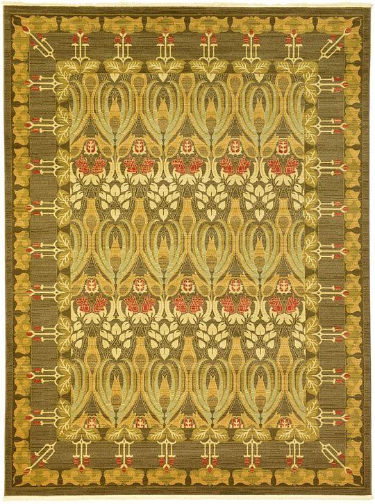 Brown 9u0027 0 X 12u0027 0 Allover Sultanabad Rug   Area Rugs   ESaleRugs. Craftsman  Style ...