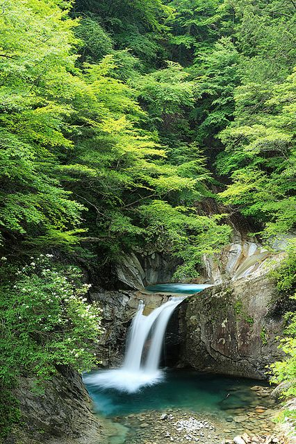 Nishizawa River valley, Aichi, Japan