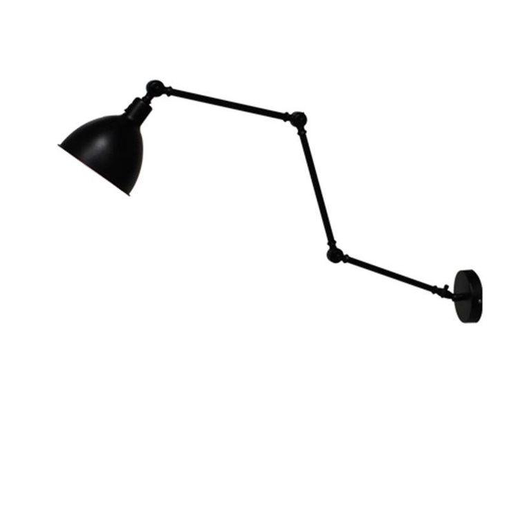 mooie lamp die op 4 punten kan scharnieren voor boven het bed (139 euro)