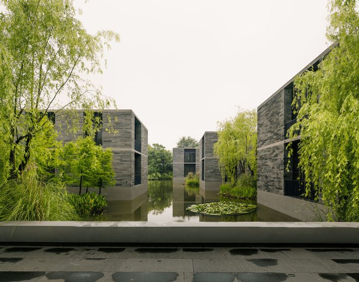 Simon menges david chipperfield architects · xixi wetland estate · divisare