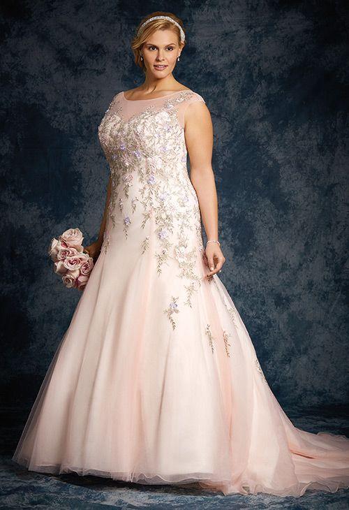Alfred Angelo | Plus Size Wedding Dresses | www.onefabday.com