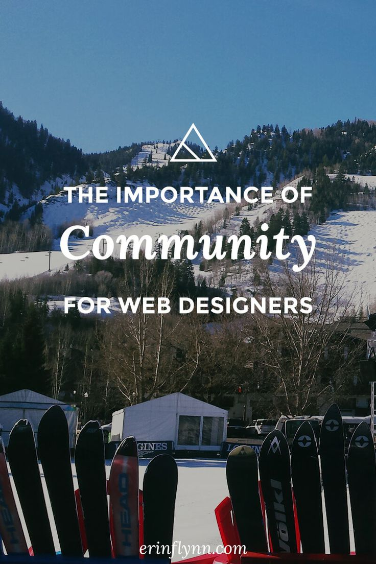 Community is so vital to running a successful freelance web design business. Learn about the importance of community for web designers--click through to read the post now!