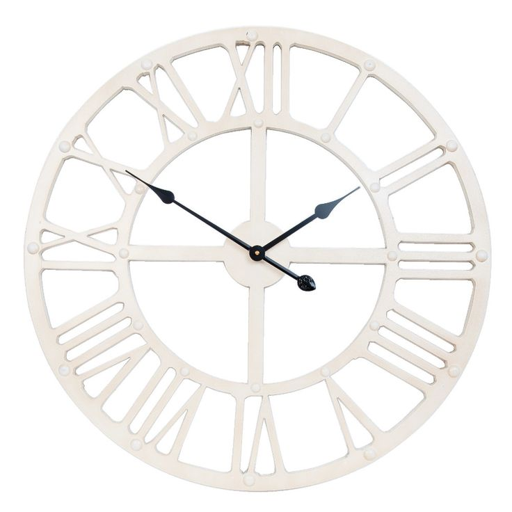 #orologio da parete #bianco #industrial