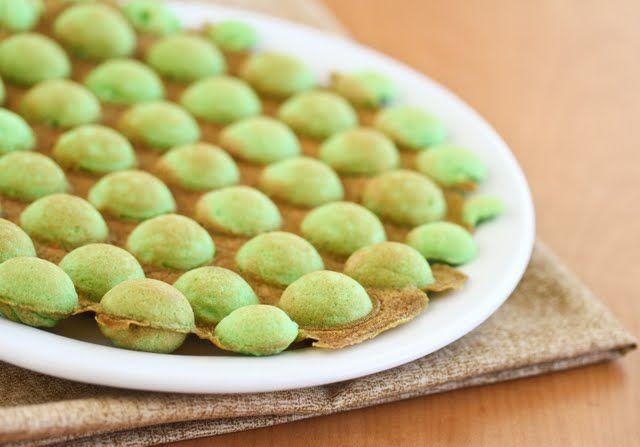 Pandan Flavored Egg Puffs   Kirbie's Cravings   A San Diego food blog