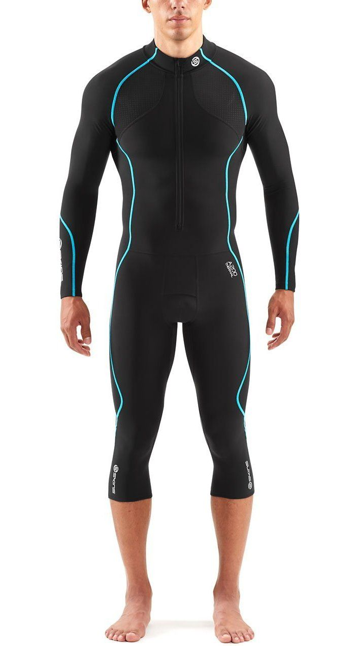 555e35ace05c21 SKINS Men's Thermal One Piece Compression Suit | Wourkout clothing ...