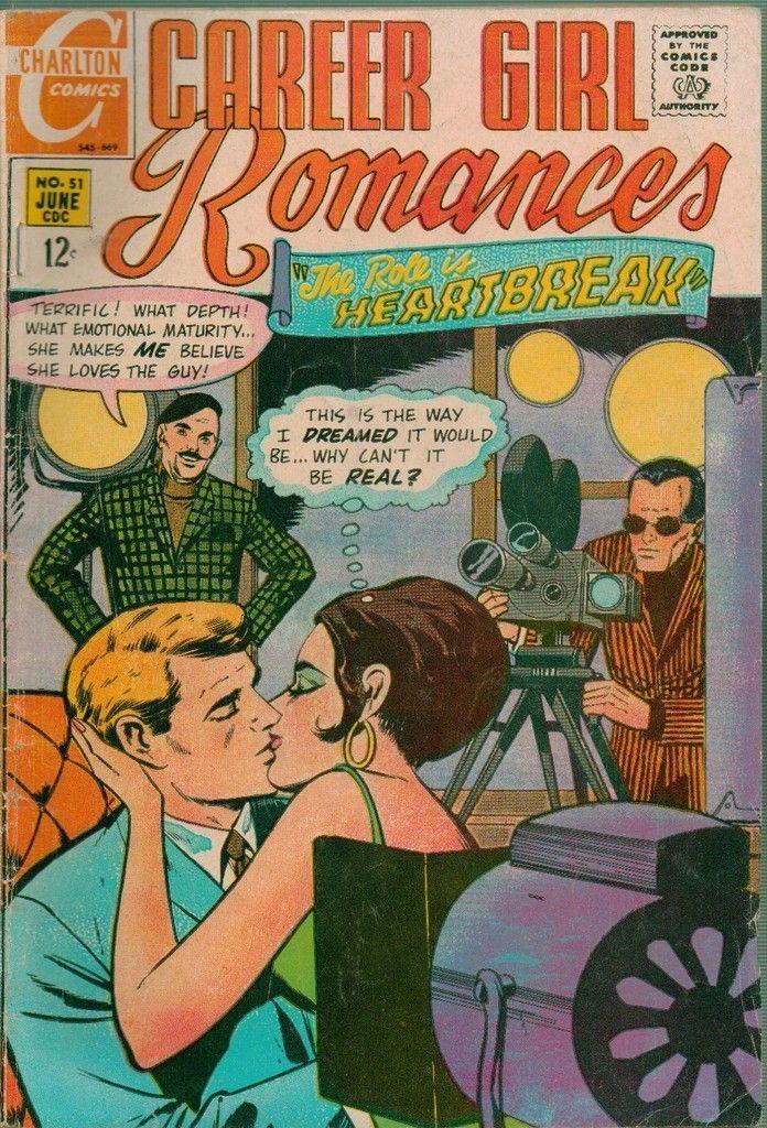 Career Girl Romances #51 Charlton Comics 1969 | eBay