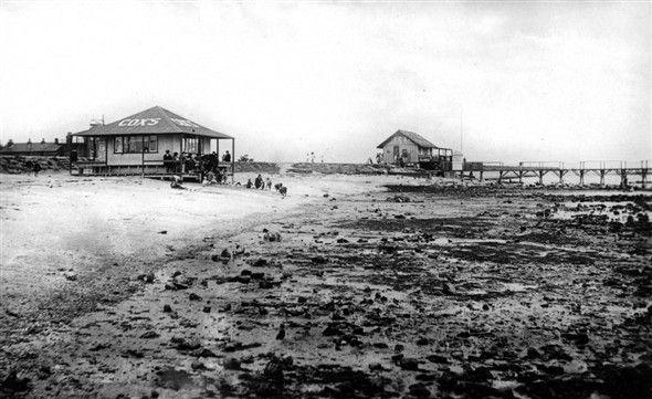 Beach tearooms - Canvey Island