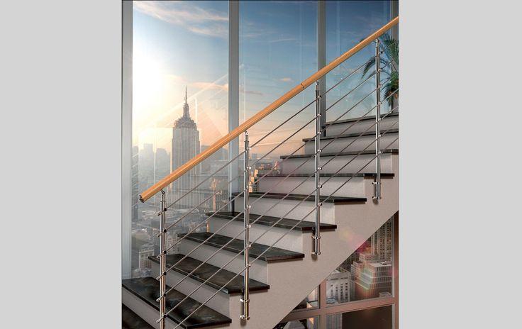 Oltre 25 fantastiche idee su scale in ferro battuto su - Costruzione scale interne ...