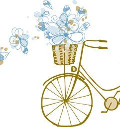 Partecipazioni nozze floreale, vintage, primaverile, estivo, autunnale, country, romantico, viaggio: adelante