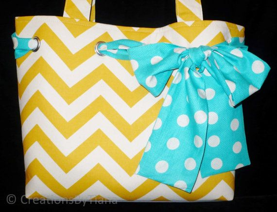 Hey, I found this really awesome Etsy listing at https://www.etsy.com/listing/153865548/tote-bag-yellow-chevron-bag-purse-bags