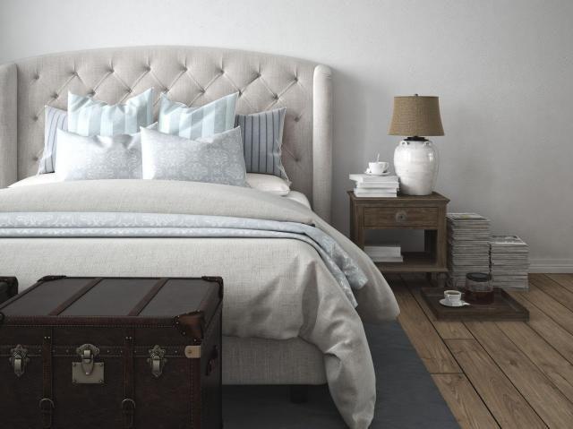 Poradnik wnętrz: Jak urządzić wygodną sypialnię, w której będziesz czuć się dobrze? #sypialnia #aranżacjasypialnia #aranżacja