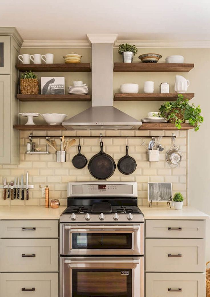 100 Stunning Farmhouse Kitchen Ideas on A Budget (54)